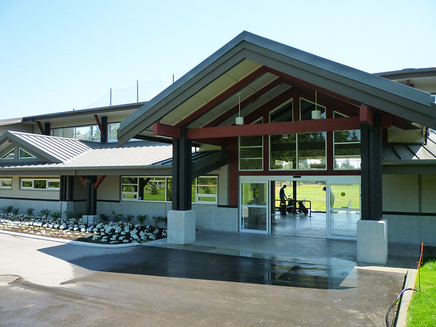 burnaby mountain golf centre front entrance