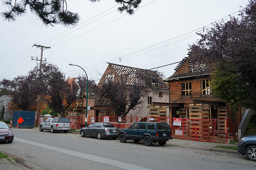 during picture of houses birch street vancouver residential architecture project