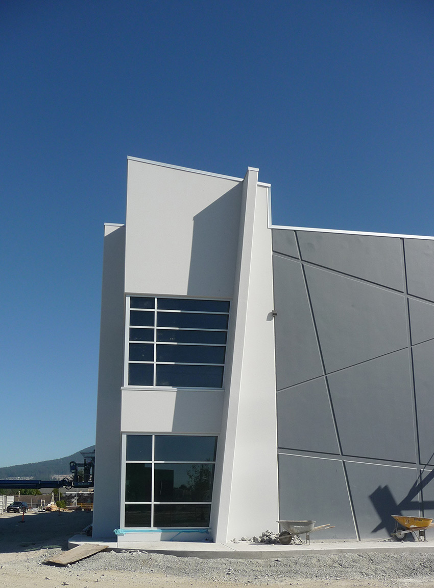 corner image of riverwood commercial architecture in port coquitlam