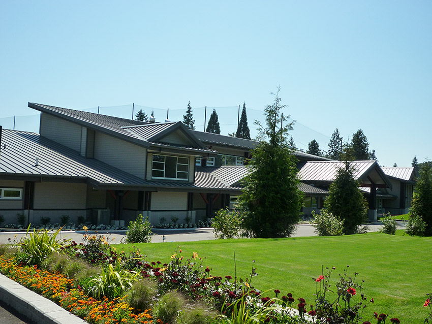 burnaby golf centre from the garden