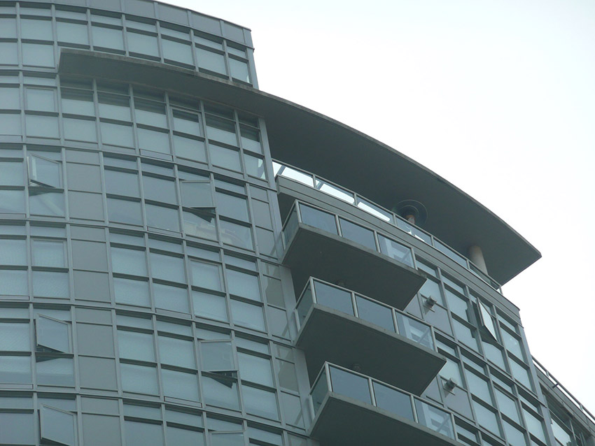 sterling residential building top view