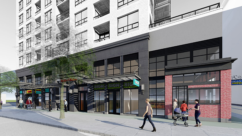 street view of main and union architect project in vancouver